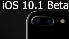 Apple iOS 10.1 beta iPhone 7 Plus'a yeni bir özellik ekledi