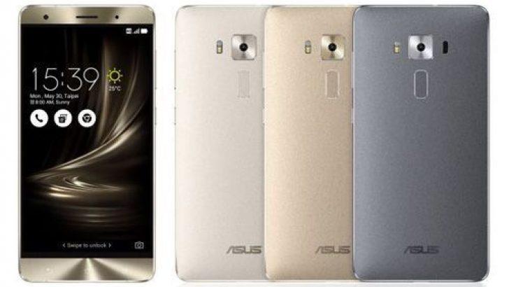 Asus'un en güçlü telefonu Zenfone 3 Deluxe yüksek bir fiyata satışa sunuldu