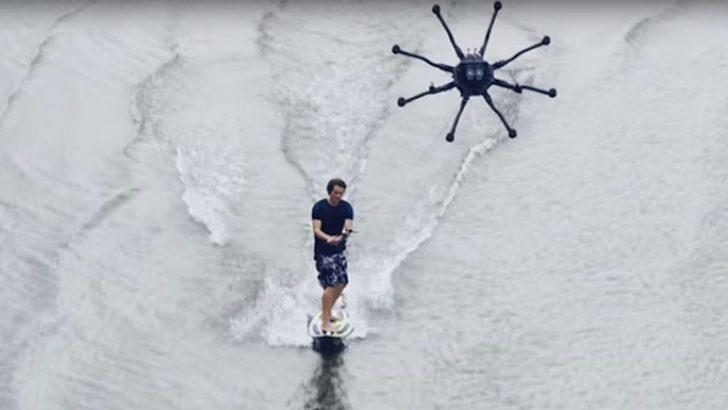 DroneSurfing: Freefly Alta 8 drone ile sörf deneyimi