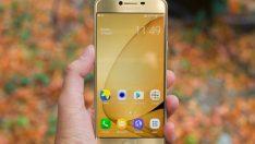 Samsung Galaxy C7 Pro test ediliyor