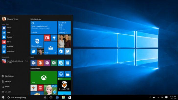Büyük Windows 10 güncellemesi duyuruldu