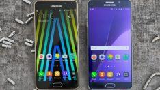 Galaxy A7 (2017) onaylandı!
