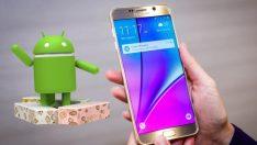 Galaxy Note 5 için Android Nougat geliyor!