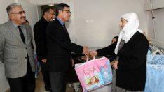 Hoş Geldin Bebek' projesi kapsamında Devlet Hastanesi Kadın Doğum servisi ziyaret edildi