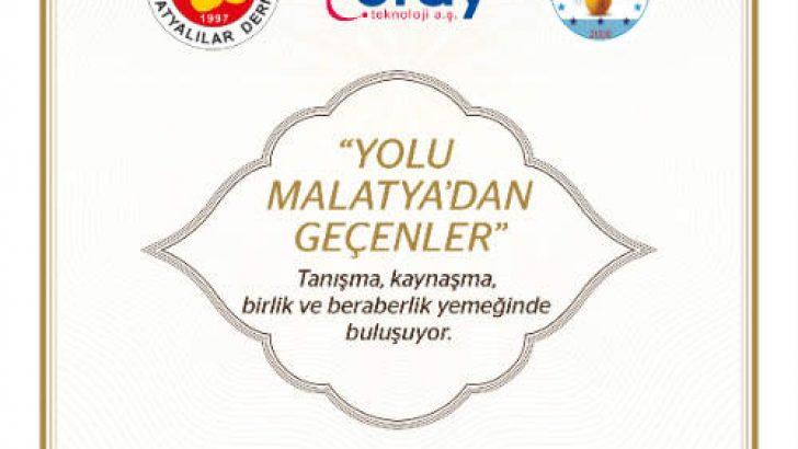 Yolu Malatya'dan Geçenler Ankara'da Bir Araya Geliyor