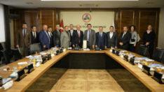 Gümrük ve Ticaret Bakanı Bülent Tüfenkci Türkiye Perakendeciler Federasyonu'nu kabul etti