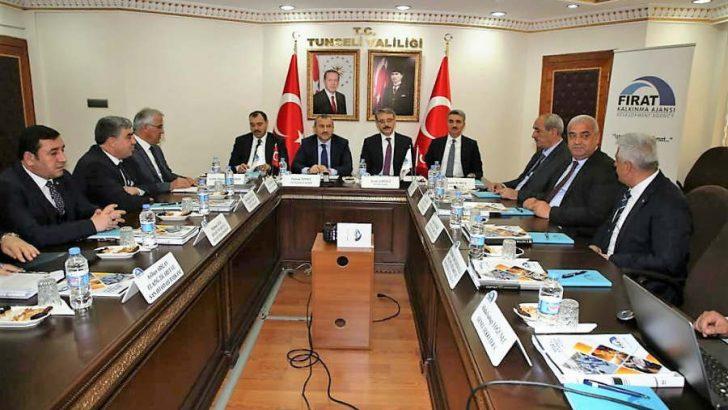 FKA 2019 Yılı 2.Yönetim Toplantısı Tunceli Valisi Tuncay Sonel başkanlığında Tunceli'de yapıldı.