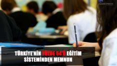 Medya takibinin öncü kurumu Ajans Press, eğitim sistemi memnuniyeti üzerine yapılan araştırmayı inceledi