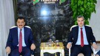 MBB Başkanı  Selahattin Gürkan, Yeşilyurt Belediye Başkanı Mehmet Çınar'ı ziyaret ederek yeni görevinde başarılar diledi