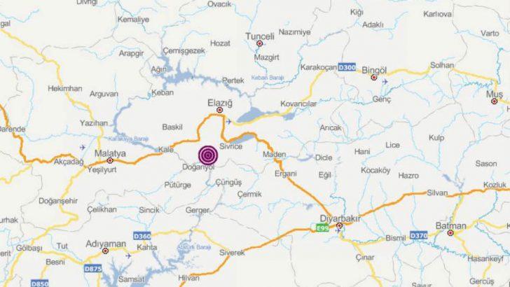 Elazığ Sivrice'de Olan Deprem Malatya' da paniğe neden oldu.