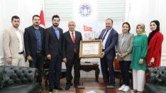 """Battalgazi Belediye Başkanı Güder, """"Hepimizin ortak amacı, insana ve insanlığa hizmet etmektir"""" dedi."""