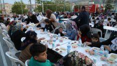 Battalgazi Belediye Başkanı Osman Güder, Şehit Fevzi ve Beylerbaşı Mahallesi sakinleri ile iftarda bir araya geldi