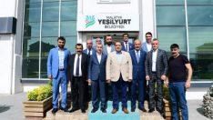 """Fendoğlu Yeşilyurt Belediyesini Ziyaretinde  """"Yeşilyurt Gelişirse Malatya'da Büyür ve Kalkınır"""" dedi"""