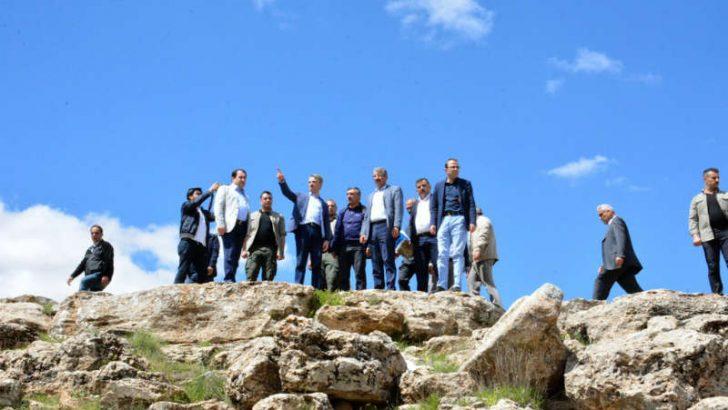 Vali Baruş: Tohma Kanyonu ile Günpınar Şelalesesinde incelemelerde bulundu.