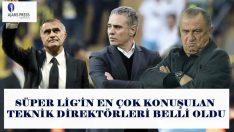 Medya takibinin öncü kurumu Ajans Press,Süper Lig'de görev yapan ve görev yapmış teknik direktörlerin medya karnelerini çıkardı. @AjansPressMT #salı