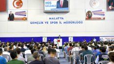 """Başkan Gürkan : Büyükşehir ailesi olarak birlik ve beraberlik içinde Malatya'yı ileri ufuklara aydınlık yarınlara taşıyalım"""" dedi."""