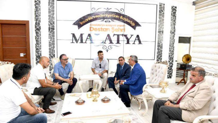 Pedreguer Belediye Başkanı Sergi Ferrus , Başkan Vekili Demez'i Ziyaret Etti