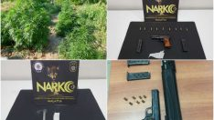 Malatya'da Uyuşturucu  Maddeler Ele Geçirildi