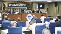 Battalgazi Belediye Meclisi, Battalgazi Belediye Başkanı Osman Güder'in başkanlığında olağanüstü toplandı. @battalgazibeltr @osmanguder44 #malatya #battalgazi