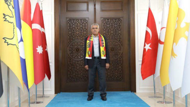 Başkan Güder, Yeni Malatyaspor-Olimpija Ljubljana Maçına Taraftarları Davet Etti