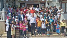 Yeşilyurt Belediye Başkanı Mehmet Çınar, Başarılı Öğrencileri Portatif Havuz'la Ödüllendirdi