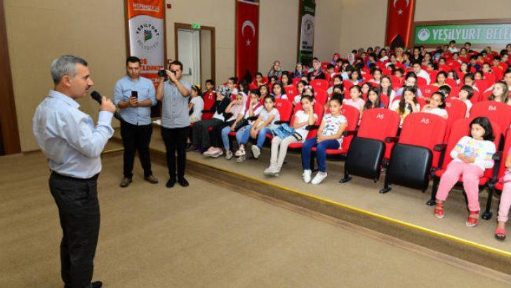 Yeşilyurt Belediye Başkanı Mehmet Çınar, Çocuklarımızın Gelişimi ve Eğitimi Her Şeyden Kıymetlidir