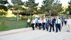 Başkan Gürkan, MASKİ Genel Müdürlüğü tarafından da İnderesi Tabiat Parkı içerisinde ihtiyaç duyulan alanlarda içme suyu ve kanalizasyon çalışmalarının tamamlandığını söyledi