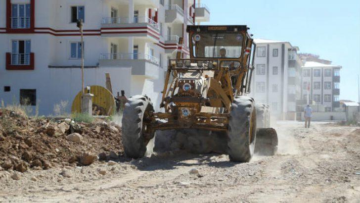 Battalgazi Beledisi tarafından Selçuklu Mahallesi'nde yeni bir imar yolu daha açıldı