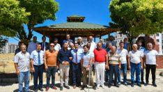 Malatya Büyükşehir Belediye Başkanı Selahattin Gürkan, Galericiler Sitesini ziyaret etti
