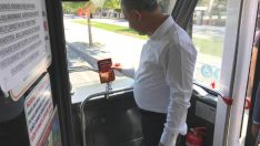 Yeşilyurt Belediye Başkanı Mehmet Çınar Halk Otobüsünde Yolculuk Yaptı , Talepleri Dinledi