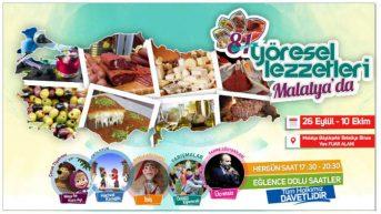 81 İlin Yöresel Lezzetleri Malatya'da Buluşuyor