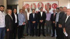 Meşale'nin Hamlerine Karşı, 13 İlçe Başkanı Bülent Avşar'ın Yanında Olduklarını Açıkladılar.