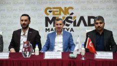 Yeşilyurt Belediye Başkanı Mehmet Çınar, sanayici ve işadamlarıyla bir araya geldi