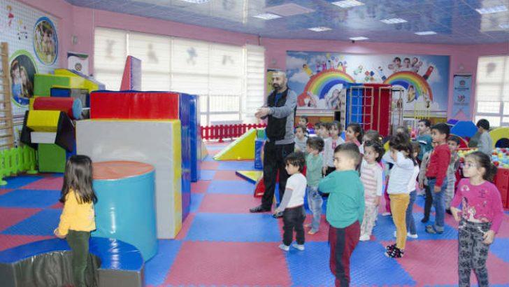Cemal Aslan Temel Beceri ve Eğitim Merkezinden, Miniklere Sportif Etkinlikler