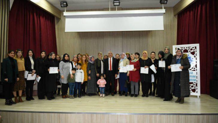 """Battalgazi'nin Kalbi Kadın Kooperatifi tarafından """"Uygulamalı Girişimcilik Eğitimi"""" verildi."""