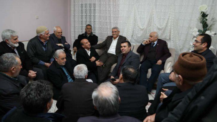 Battalgazi Belediye Başkanı Osman Güder, mahalle toplantılarına devam ediyor.