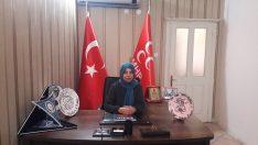 MHP Malatya Kadın Kolları İl Başkanı Selma Çiçek 10 Ocak Çalışan Gazeteciler günü münasebetiyle bir mesaj yayınladı