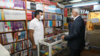 Battalgazi Belediye Başkanı Osman Güder, Sahaflar Çarşısı'nda ki esnafları ziyaret etti