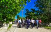 Malatya Büyükşehir Belediyesi, Akçadağ'ın en önemli grup yollarından biri olan Esenli, Karamağara Ancarlı