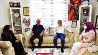 Yeşilyurt Belediye Başkanı Mehmet Çınar'dan Şehit Ailelerine Bayram Ziyareti