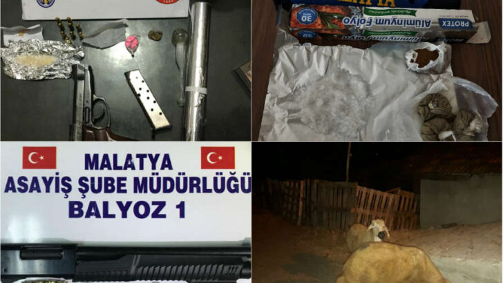 Malatya'da Çocuk Hırsız Yakayı Ele Verdi