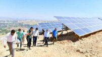 Mollakasım Mahallesi Güneş Enerji Santralinde enerji üretimine başladı
