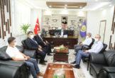 Güder, Orman Bölge Müdürü M.Salih Çetiner'den zarar gören bu alanlara ağaçlandırma sözü aldı.