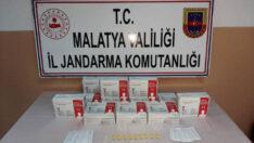 Malatya İl Jandarma Komutanlığınca  Kaçak Covid-19 test kitleri ele geçirildi