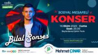 Yeşilyurt Belediyesi , Bilal Sonses'i Malatya'lı hayranlarıyla buluşturacak.