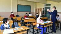 Vali Baruş, Hacı Halil Çiftliği İlkokulu ve Malatya Spor Lisesini ziyaret etti