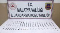Malatya Jandarma Komutanlığı , Battalgazi'de Tarihi Eser Kaçakçısı 1 Kişiyi Gözaltına Aldı