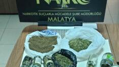 Malatya'da 2 Kilo 918 gr Esrar Maddesi Ele Geçirildi