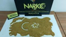 Malatya'da 1 kilo 15 gr Sentetik Kannabinoid maddesi ele geçirildi