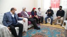 Battalgazi Belediye Başkanı Osman Güder,Özel Gereksinimli Ailelere Moral Verdi